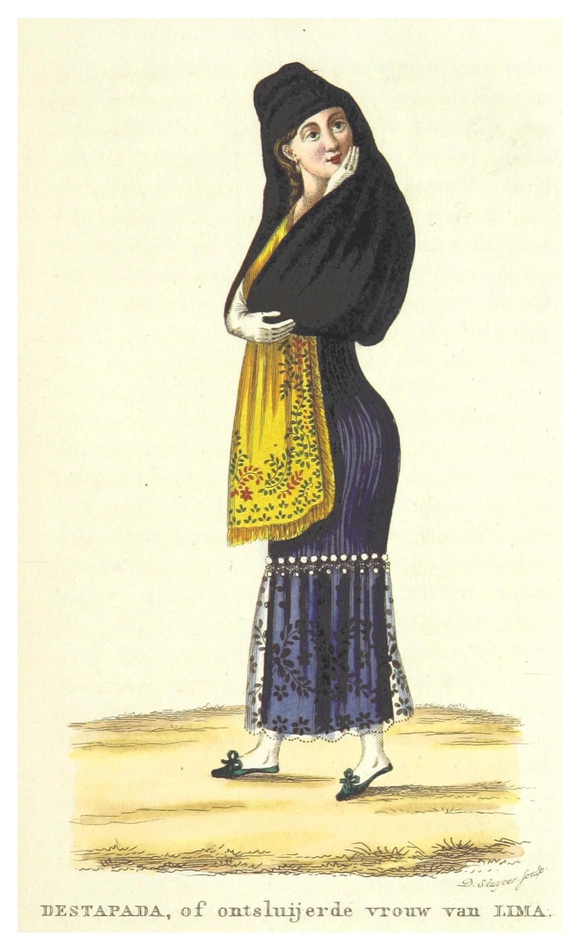 Archivo:BOELEN(1835) T2 p307 DESTAPADA, VROUW VAN LIMA.jpg - Wikipedia, la enciclopedia  libre