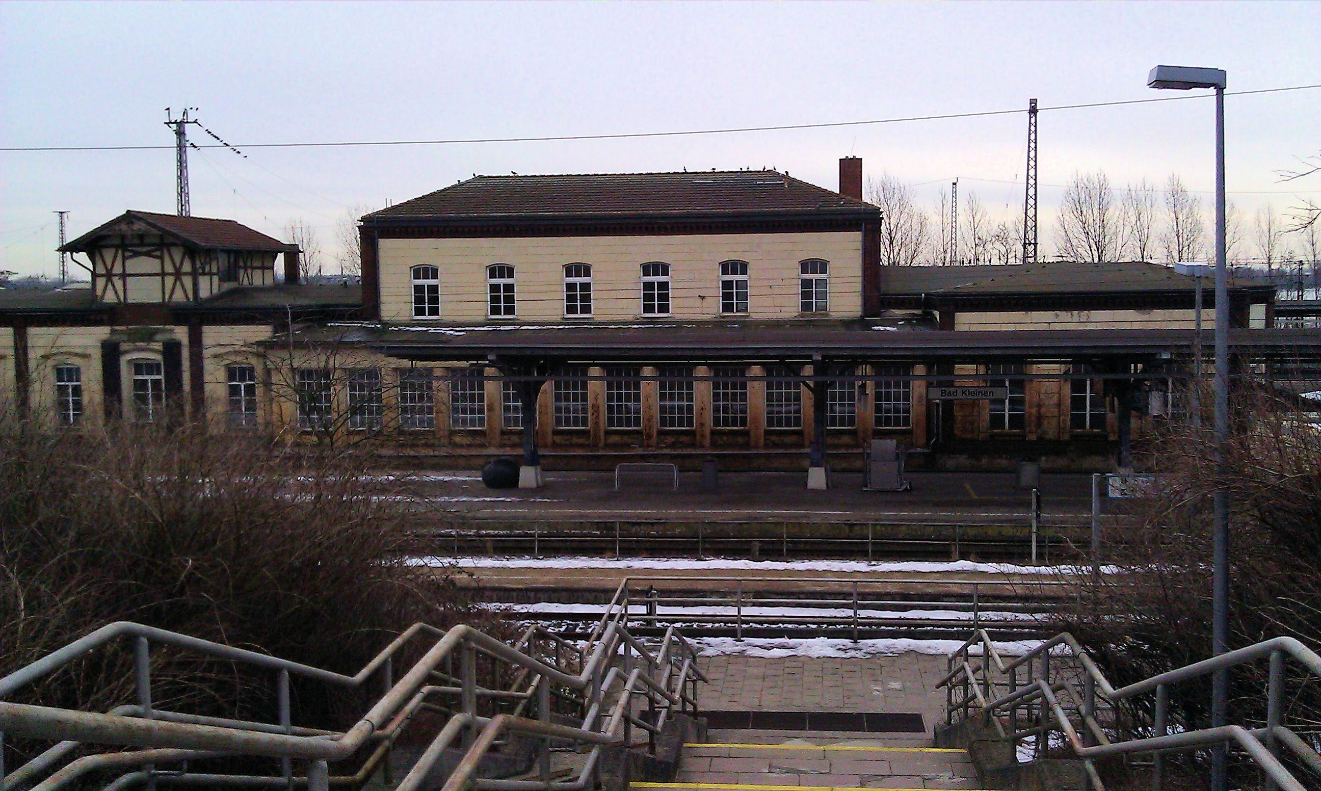 Bad Kleinen Bahnhof