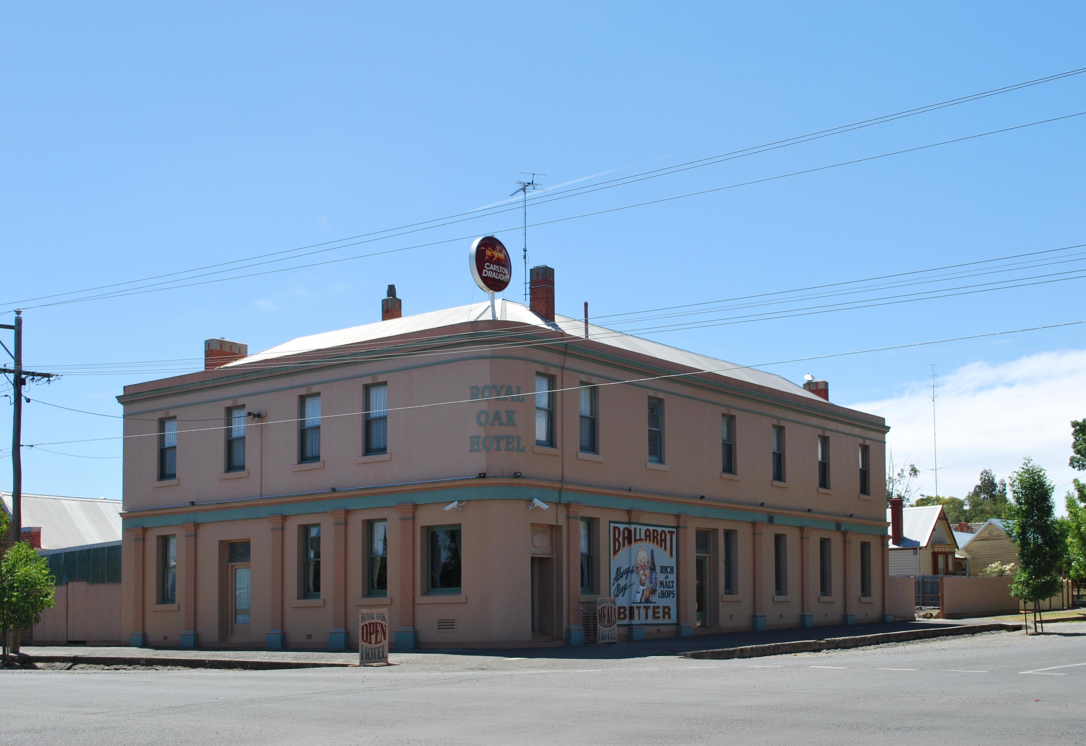 File Ballarat Royal Oak Hotel 001 Jpg