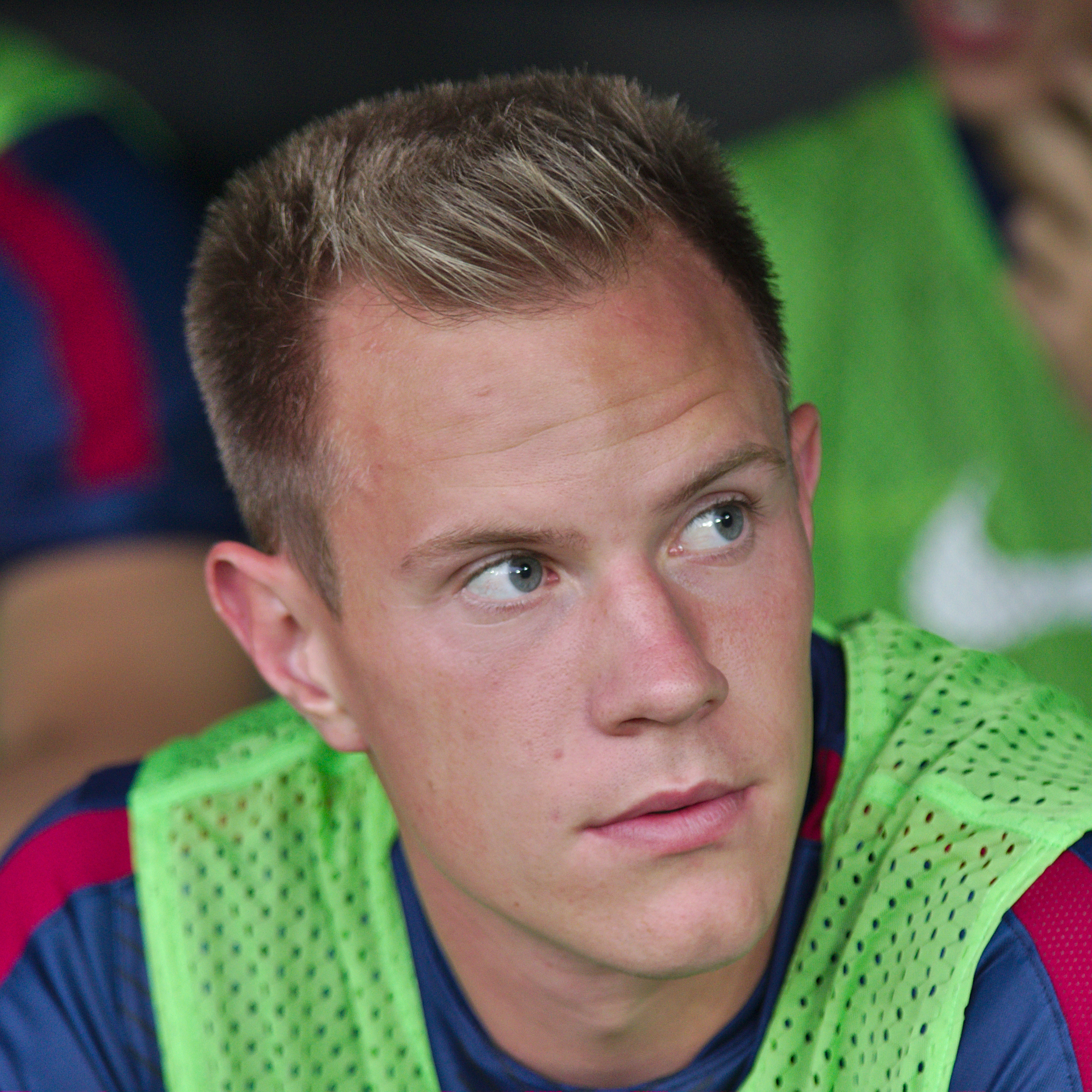 Marc-André ter Stegen earned a  million dollar salary - leaving the net worth at 15 million in 2017