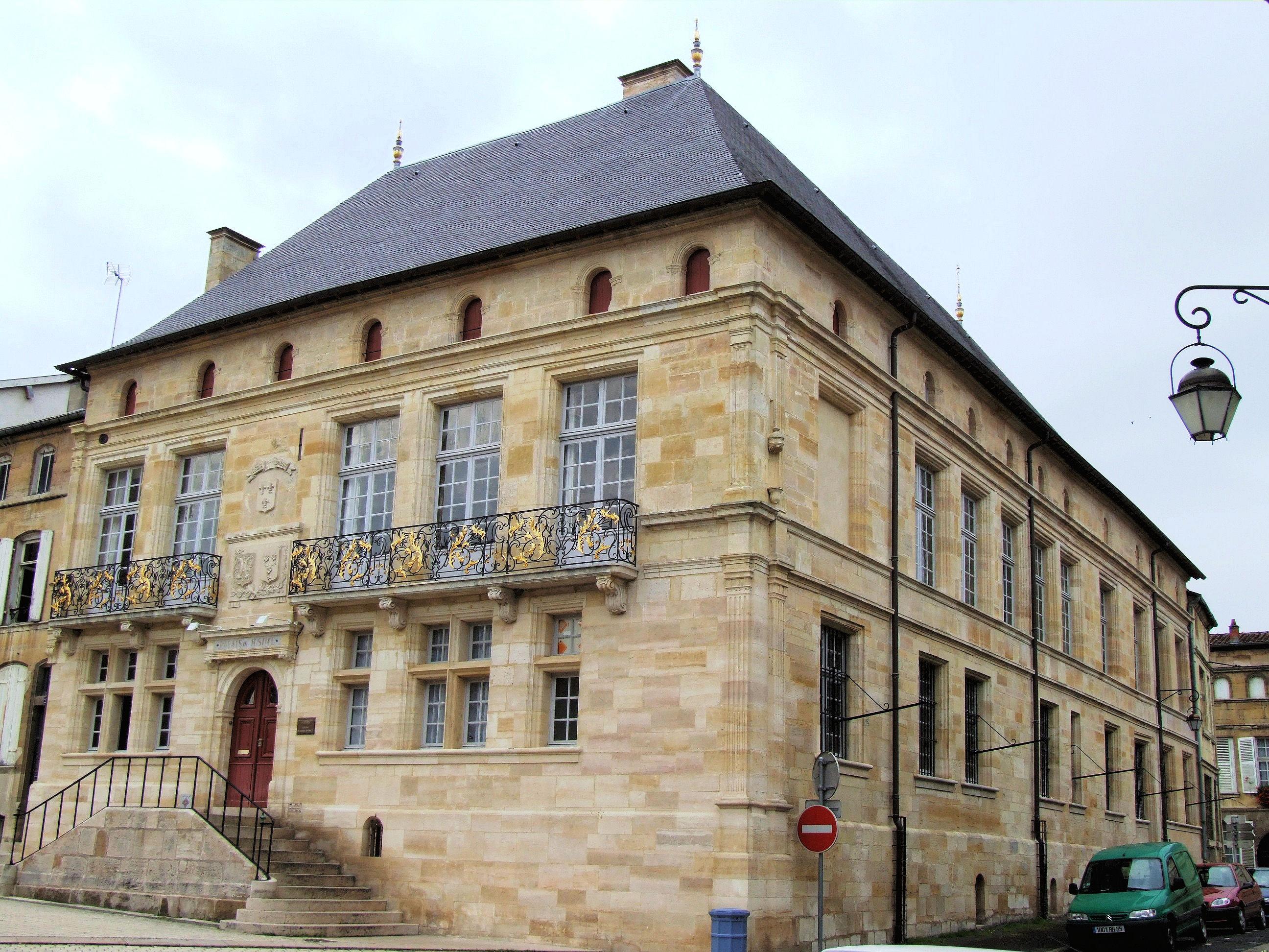 file bar le duc palais de justice h tel de florainville wikimedia commons. Black Bedroom Furniture Sets. Home Design Ideas