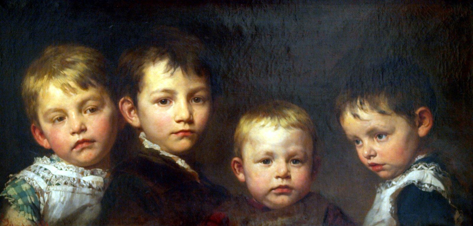 Бенкур Дети Мои 1881.jpg