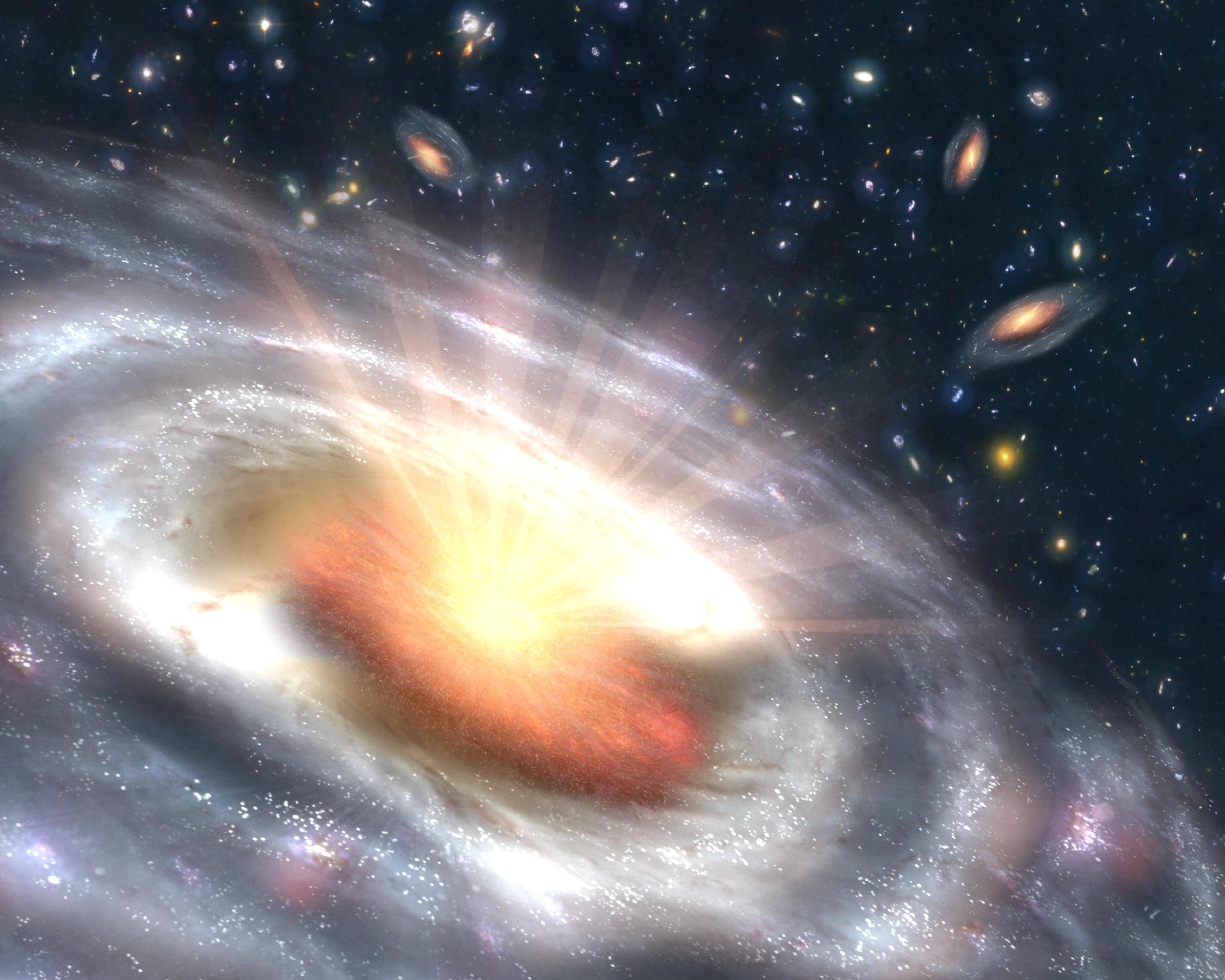 quasar black hole