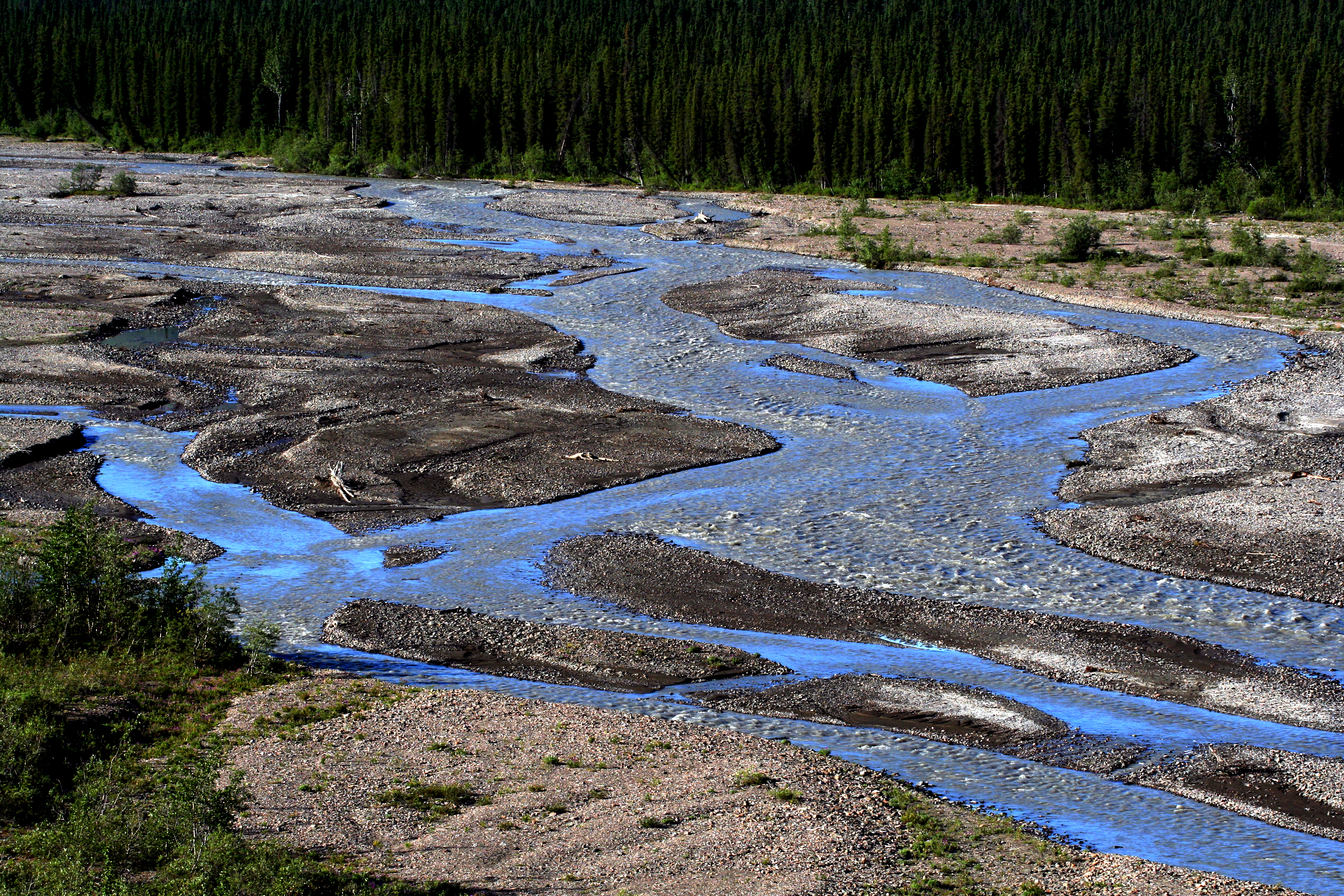 File:Braided river, Denali NP.jpg - Wikimedia Commons
