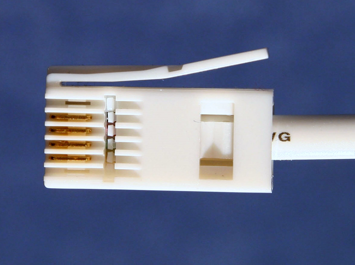 British Telephone Connector