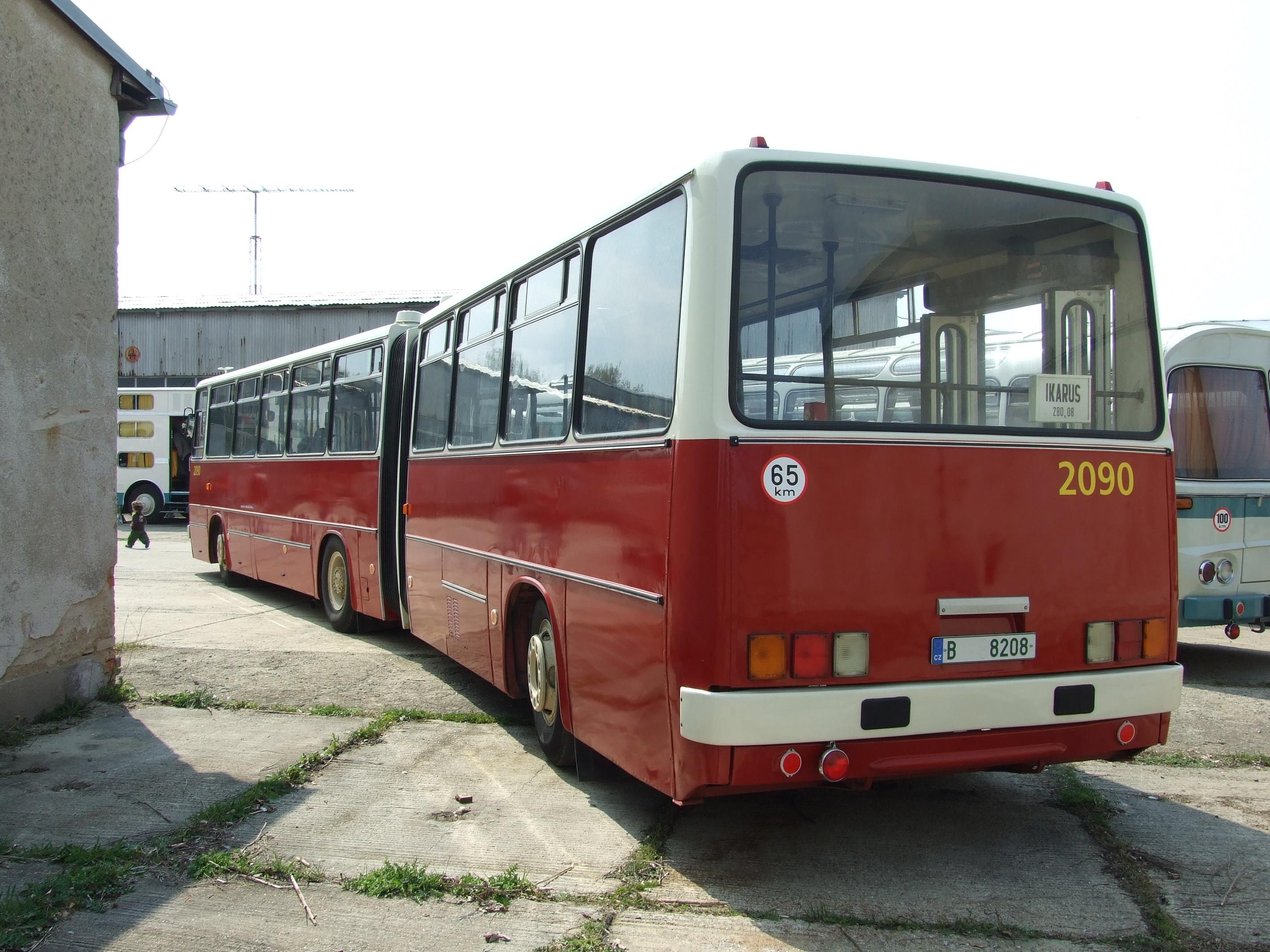 Filebrno řečkovice Autobus Ikarus 280 Iijpg Wikimedia Commons