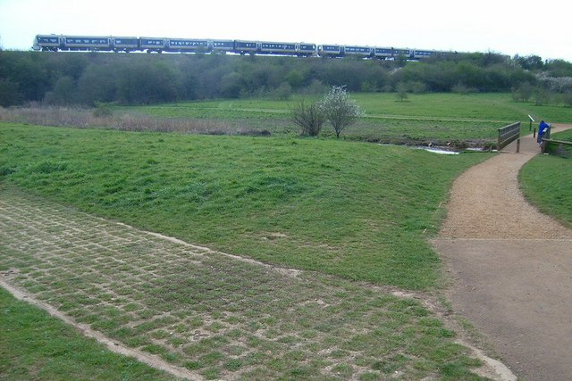 Bure Park (actual Park), Bicester - geograph.org.uk - 1416179