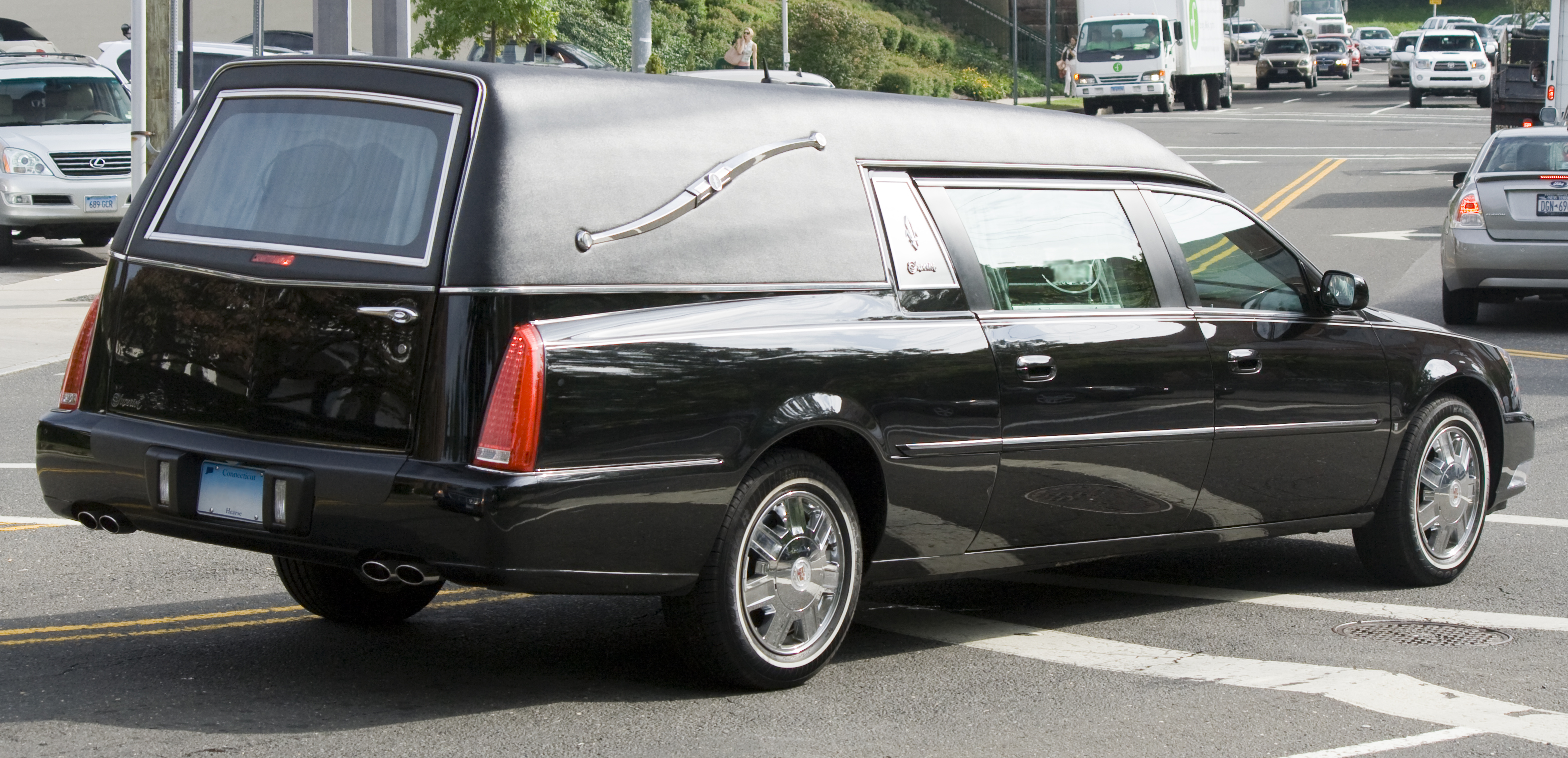 File:Cadillac DTS hearse by Superior.jpg