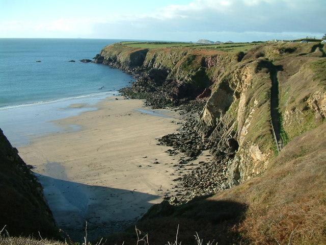 Caerfai Beach - geograph.org.uk - 621731