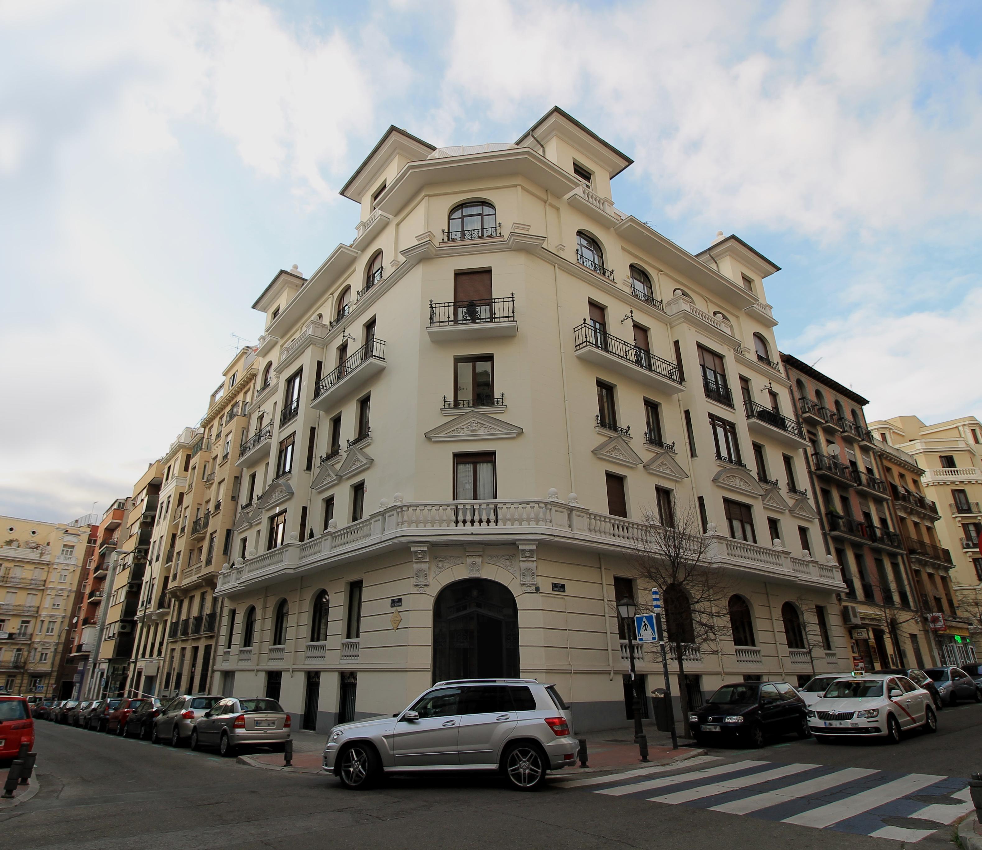 Casa madrileña donde vivió Gerardo Diego desde 1940 hasta su muerte.