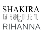 Logo del disco Can't Remember to Forget You