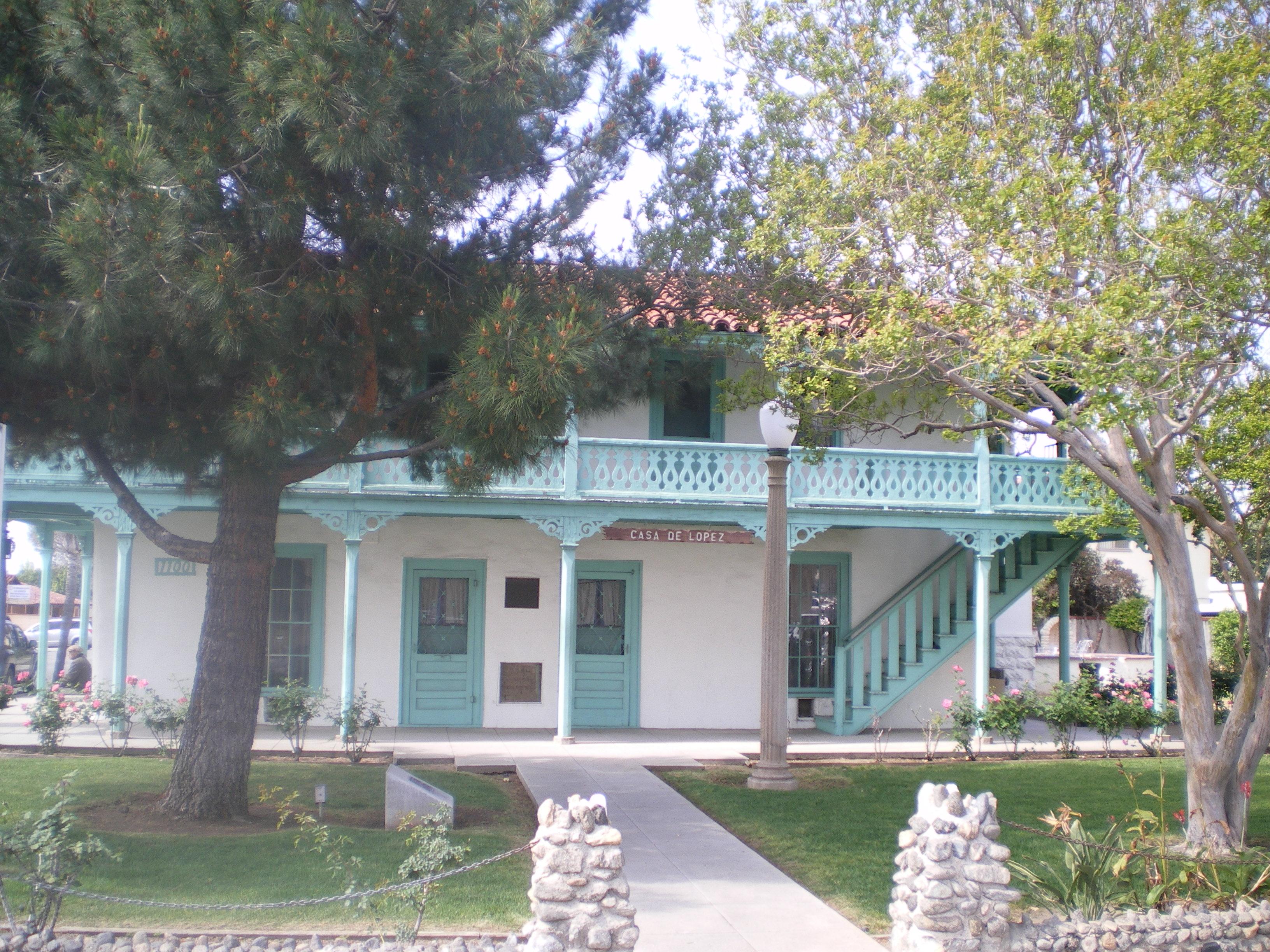 Casa de lopez lopez adobe san fernando ca jpg wikimedia commons
