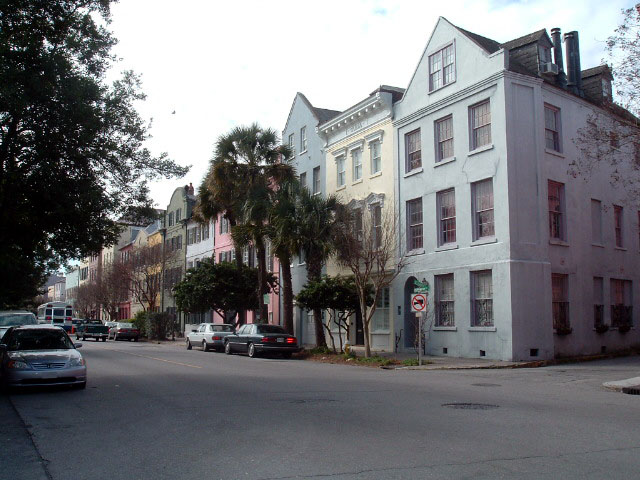 This image is Public Domain http://en.wikipedia.org/wiki/File:CharlestonSC_RainbowRow_500px.jpg