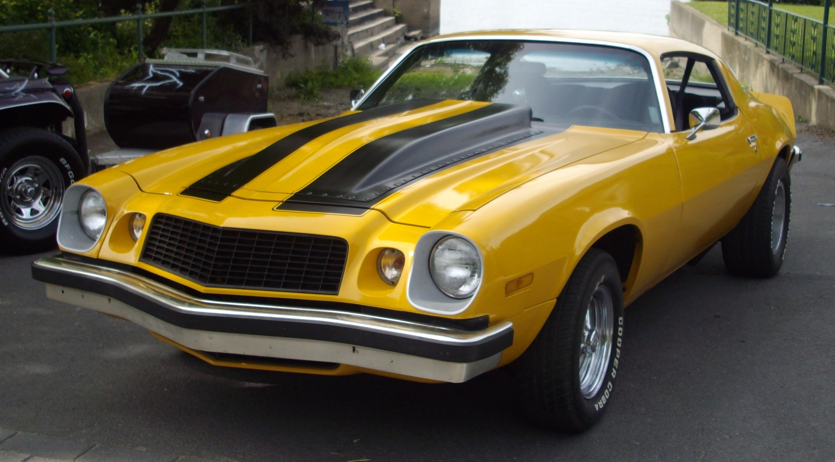 Old Bumblebee Car For Sale