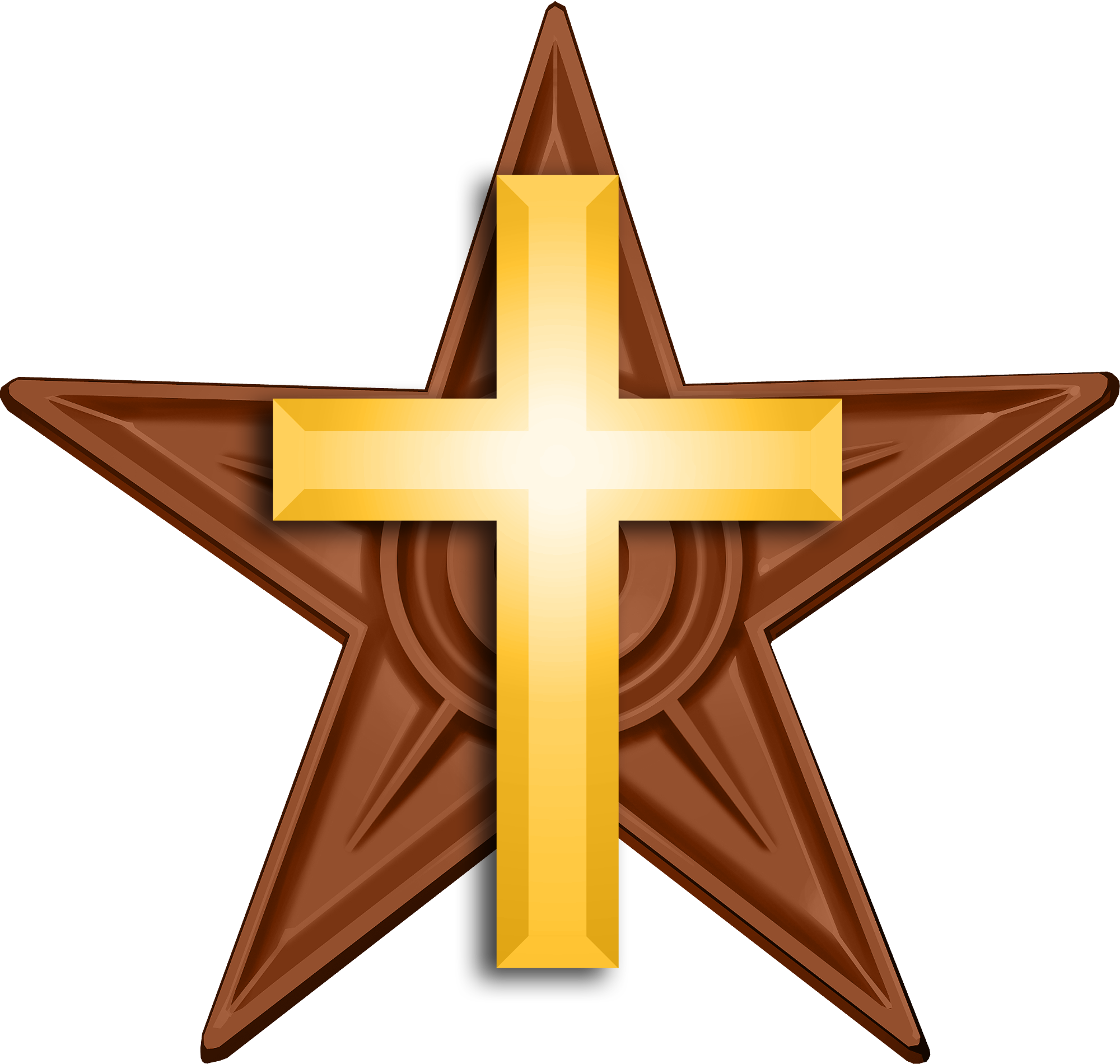 FileChristian Barnstar Hirespng Wikimedia Commons - Christian