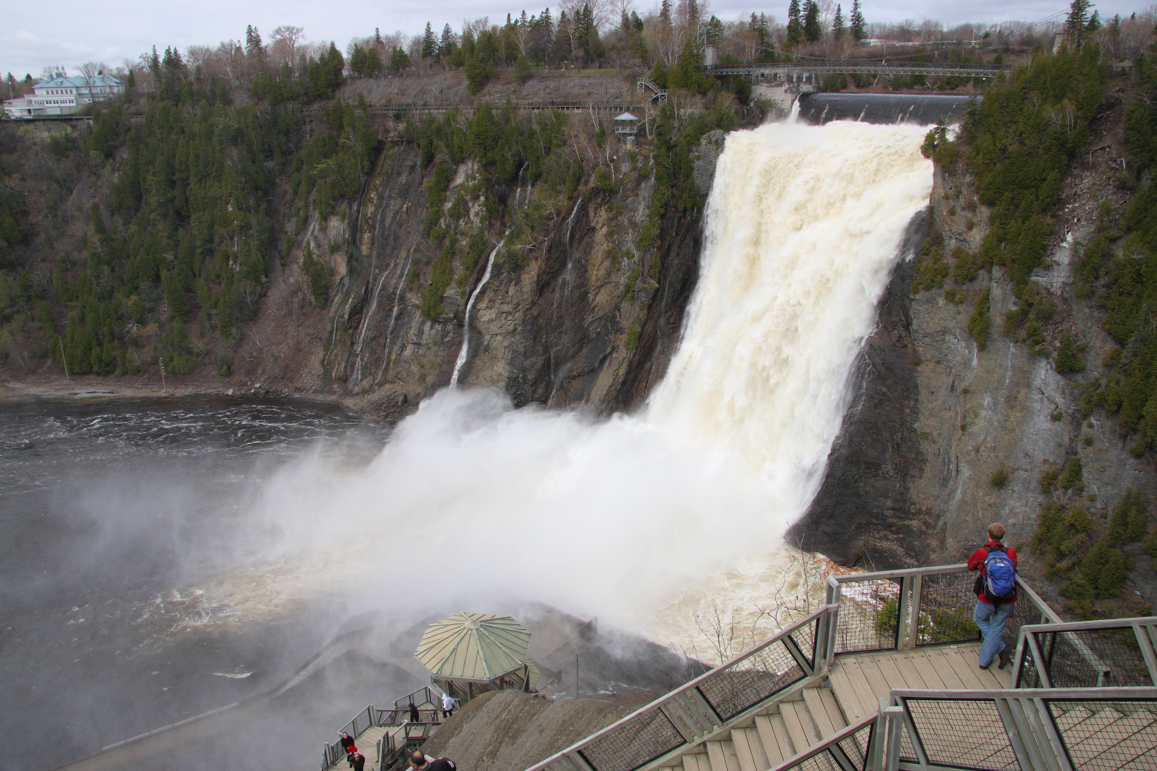 File Chute Montmorency5 Cephas Jpg Wikimedia Commons