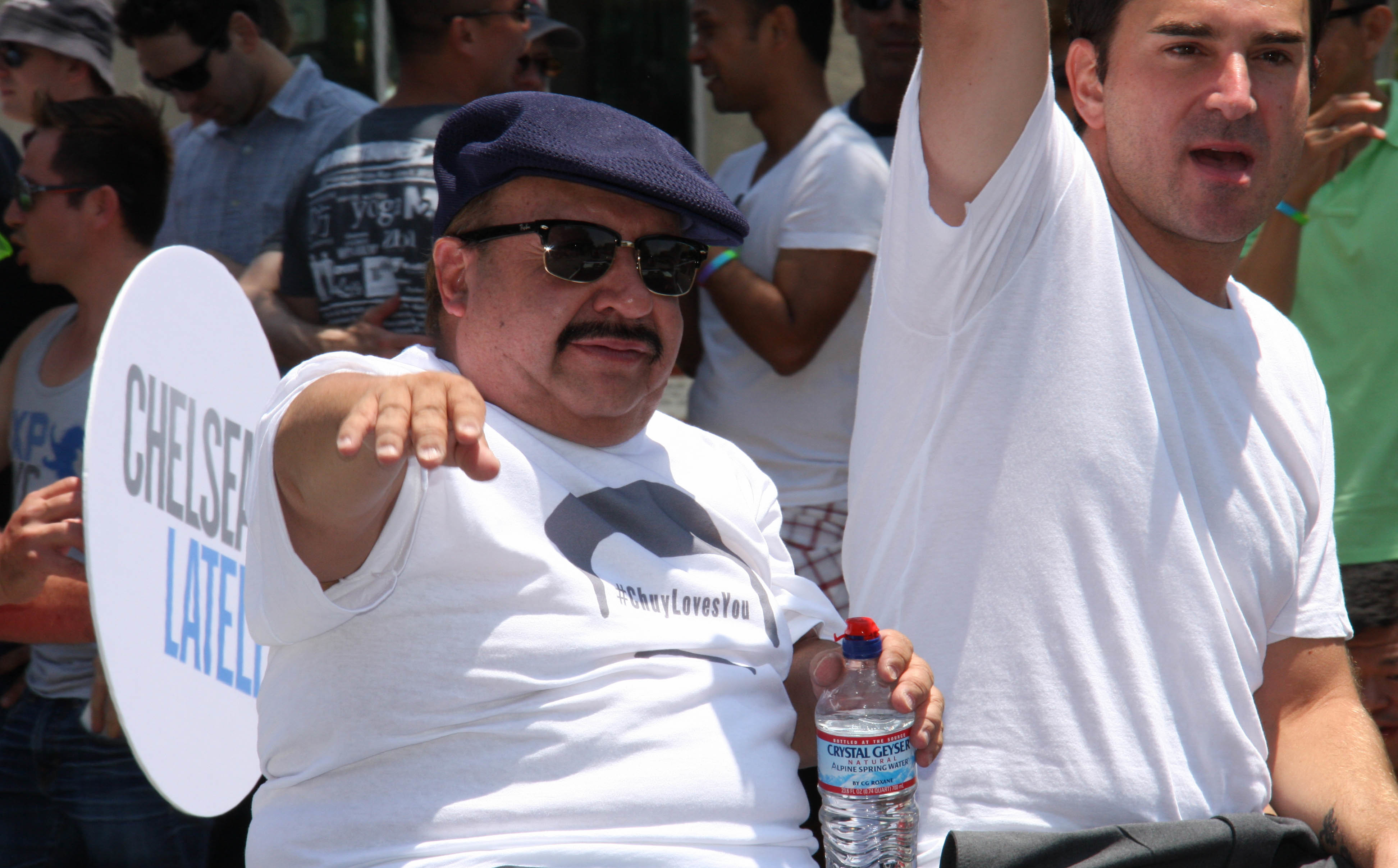 The 61-year old son of father (?) and mother(?) Chuy Bravo in 2021 photo. Chuy Bravo earned a  million dollar salary - leaving the net worth at 1.5 million in 2021