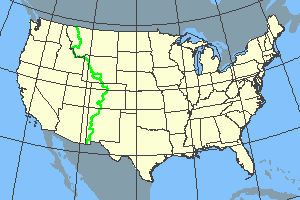 Continental Divide Trail Long-distance scenic trail in the western United States