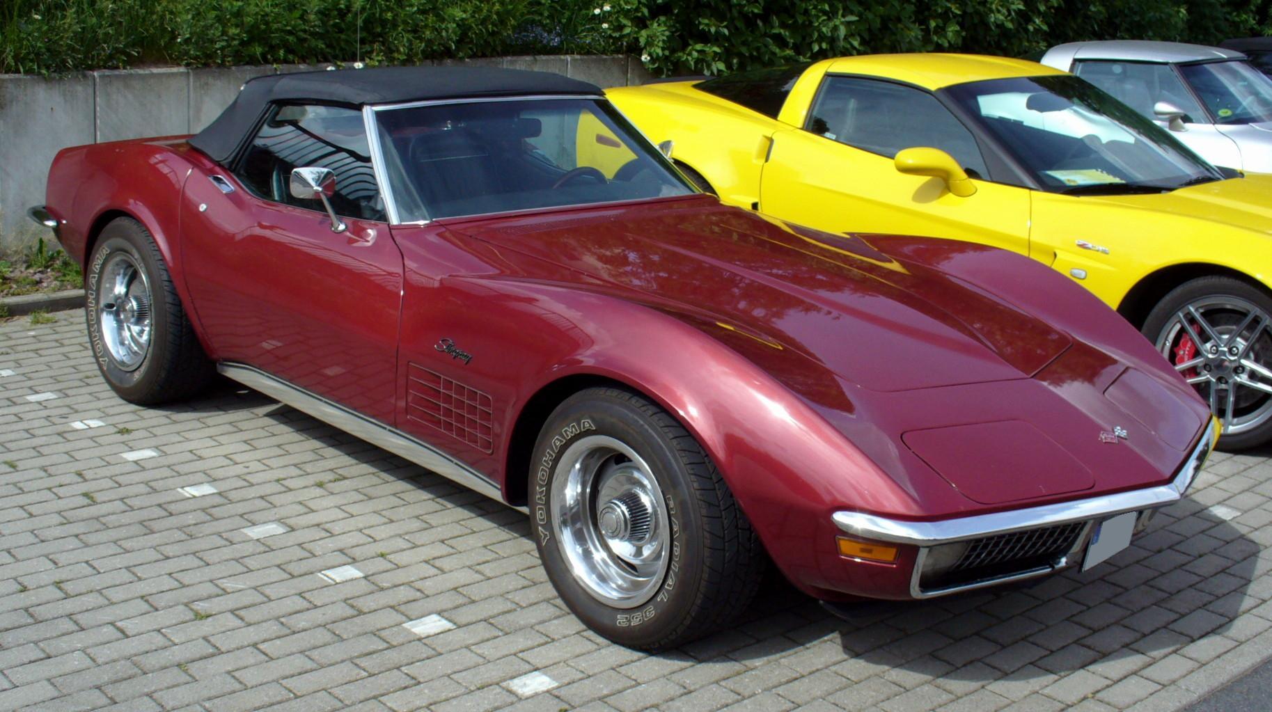 Chevrolet Corvette L Roadster Rm Sotheby S Virtual Car Show