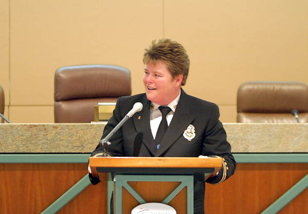 Cynthia Dick, Tallahassee's first female Fire Chief (6880552152).jpg
