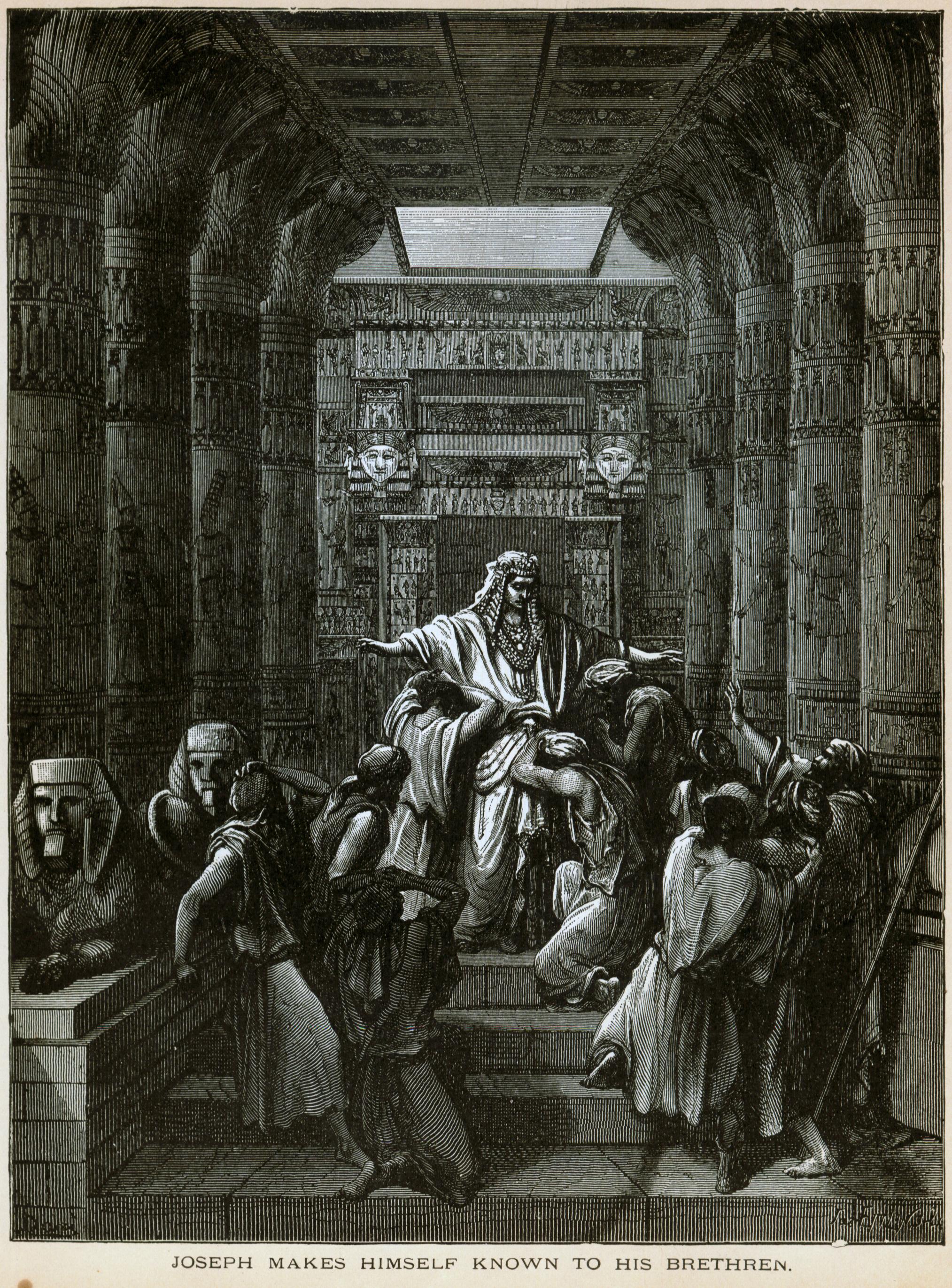 יוסף מתוודע לאחיו