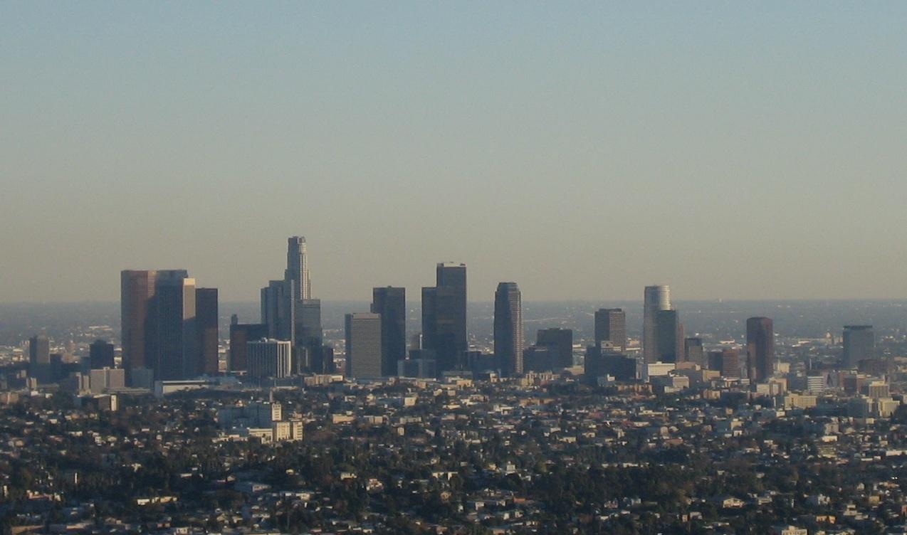 los angeles skyline view - photo #30