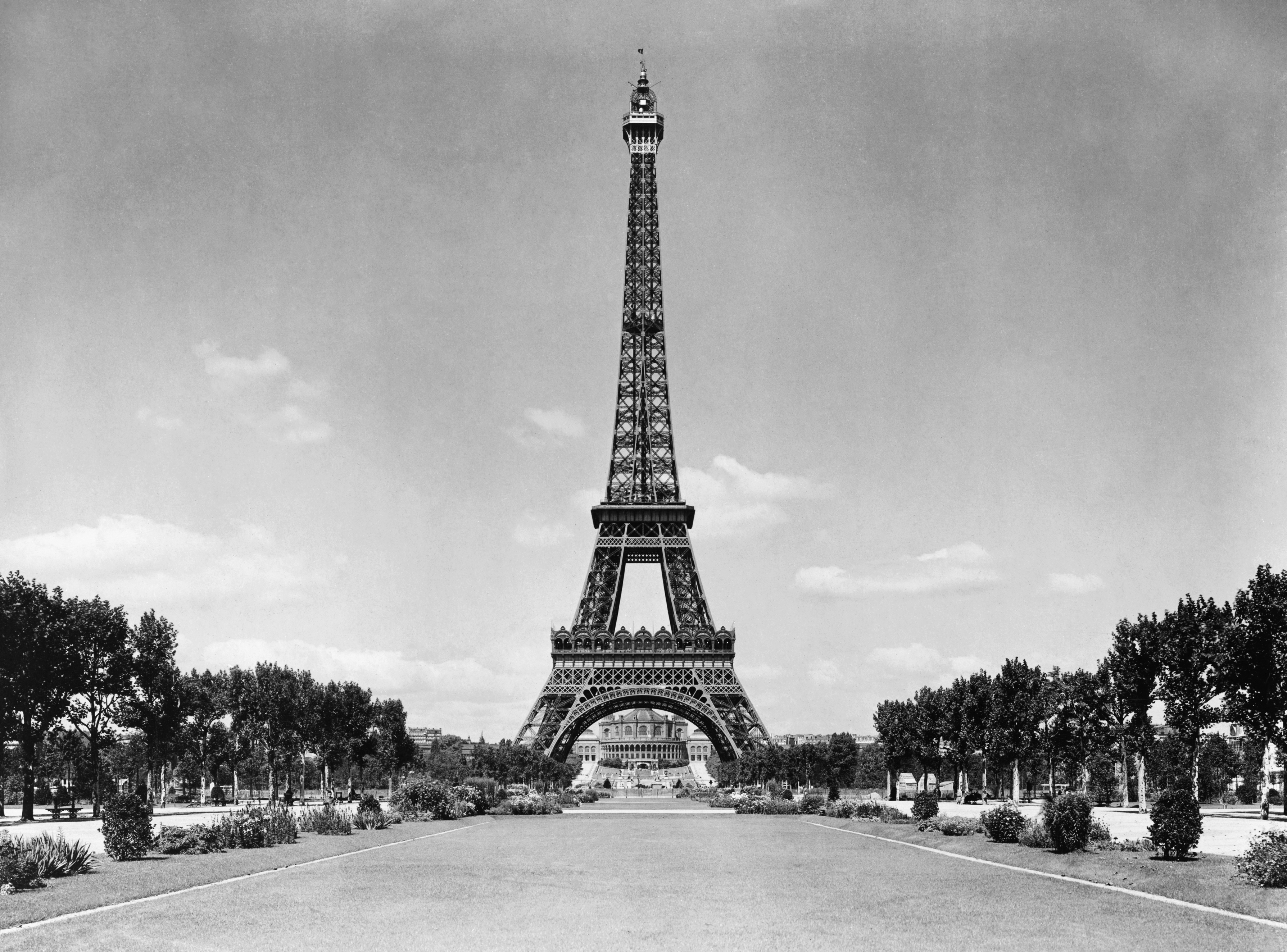 FileEiffel Tower And Park Paris France Ca 1909