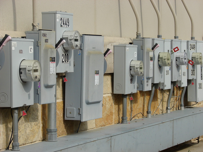 Electrical Meter Room Battery Back Up Lights