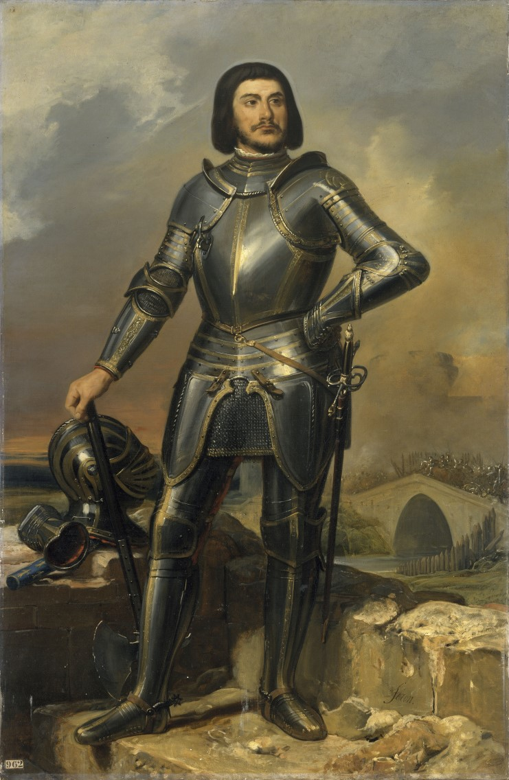 Depiction of Gilles de Rais