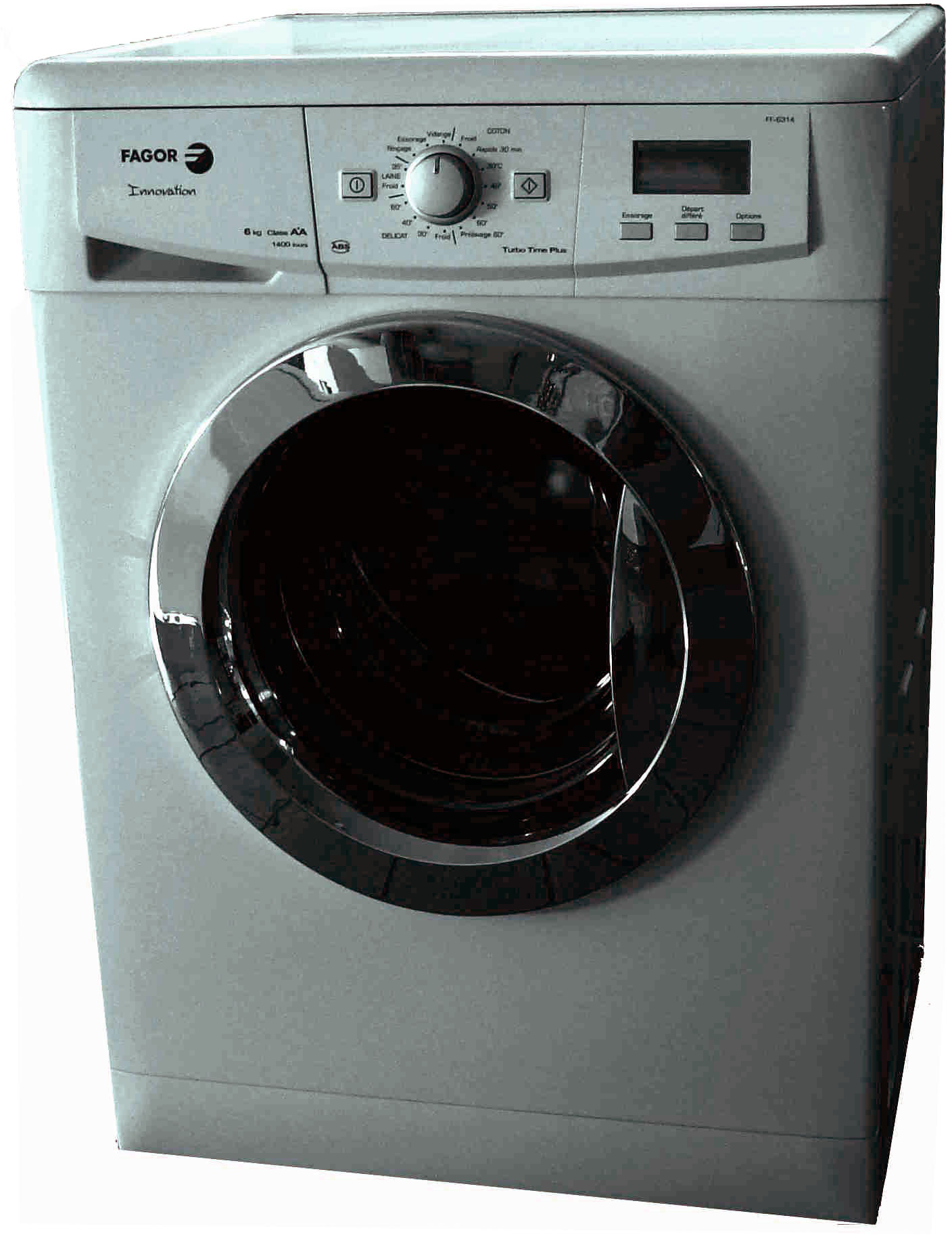 File fagor washing machine front wikimedia - Dimension standard machine a laver hublot ...