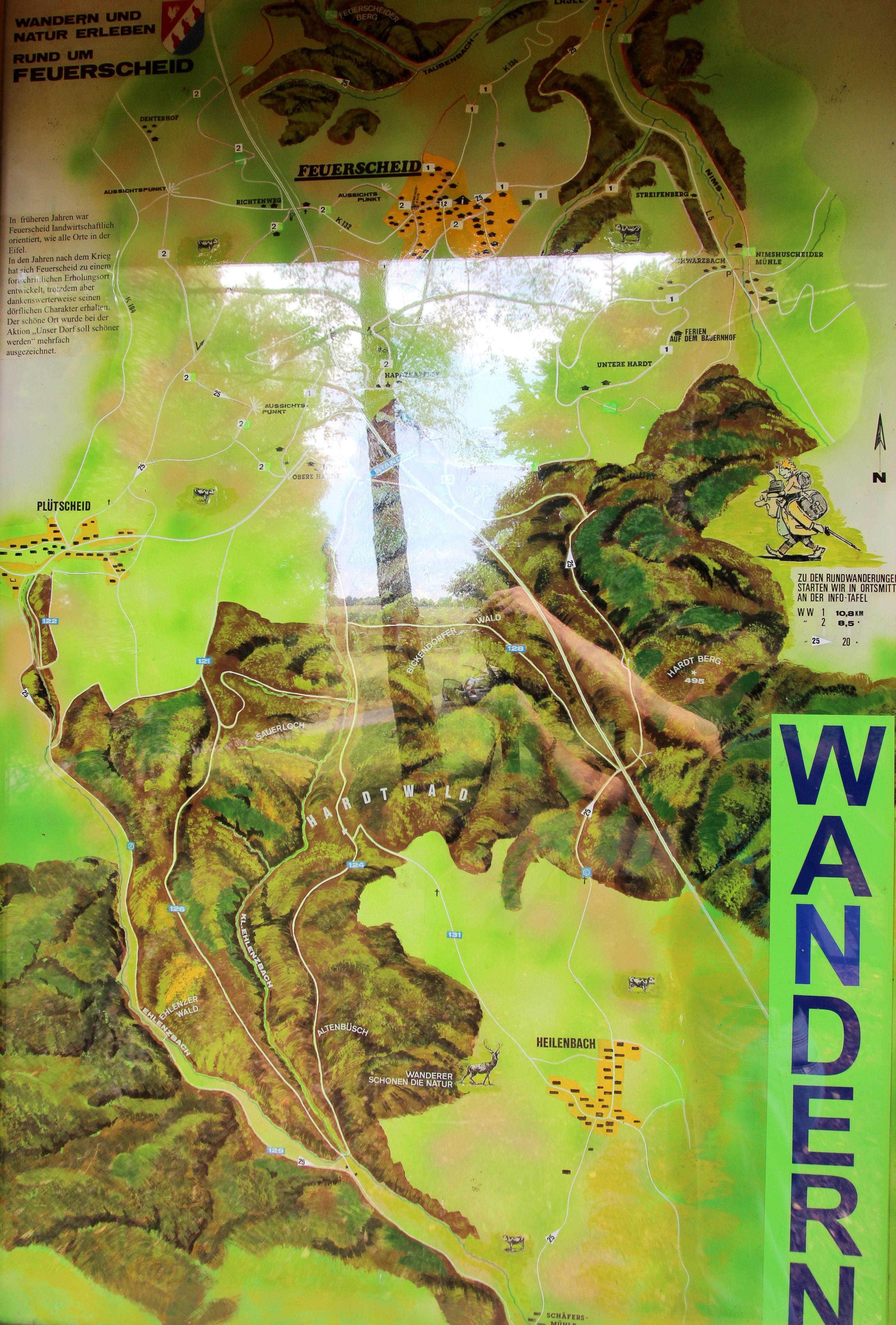 File Feuerscheid Eifel Wanderkarte A Jpg Wikimedia Commons