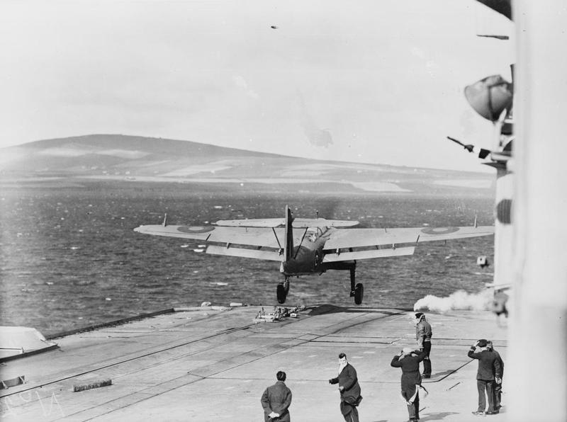 File:Fleet Air Arm Trials, Aboard HMS Victorious  23-25 September