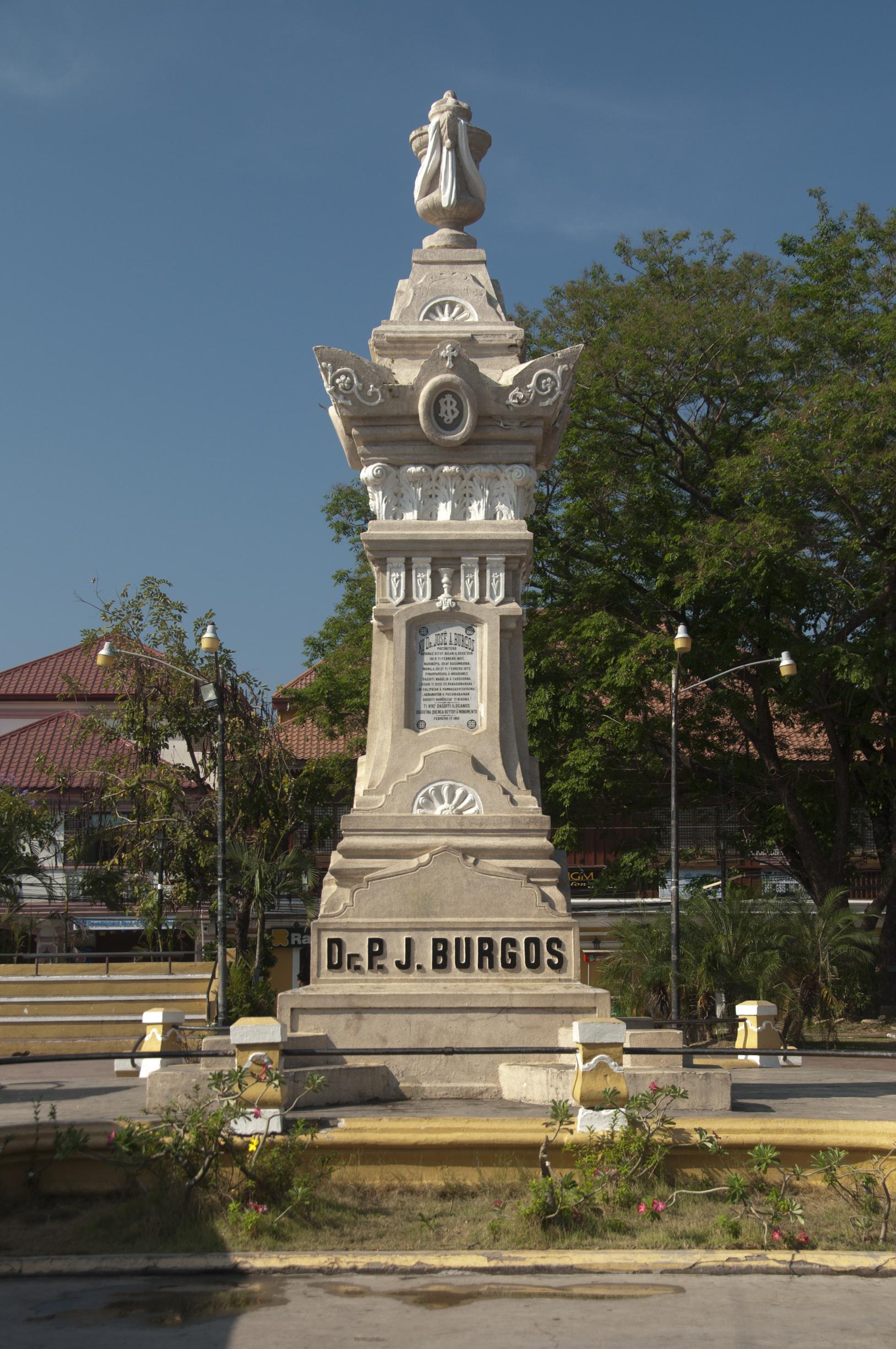 Plaza Burgos Old Ilocos Sur