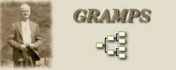 Le logiciel Gramps