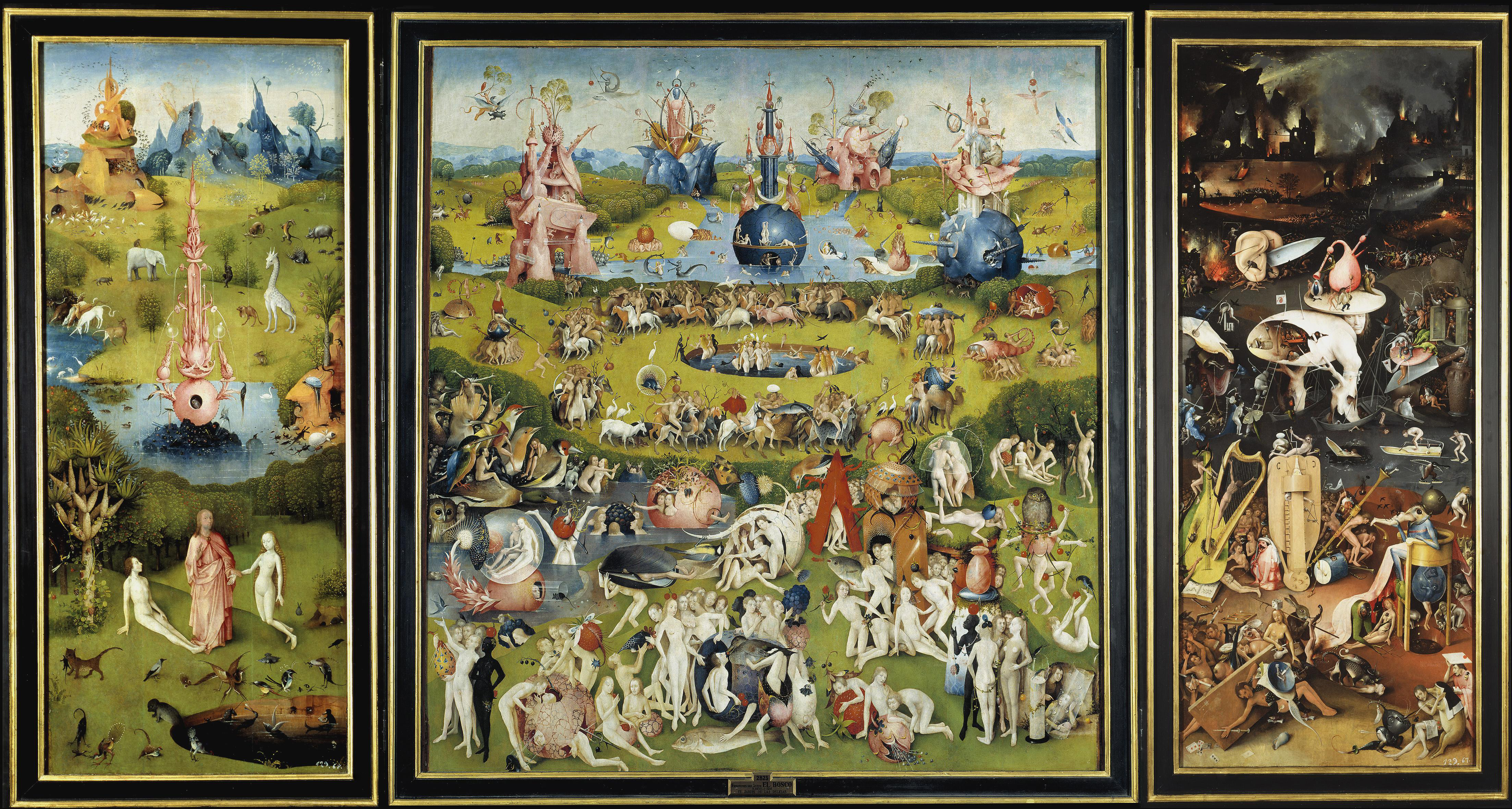Heronimus Bosch - O Jardim das Delícias Terrenas