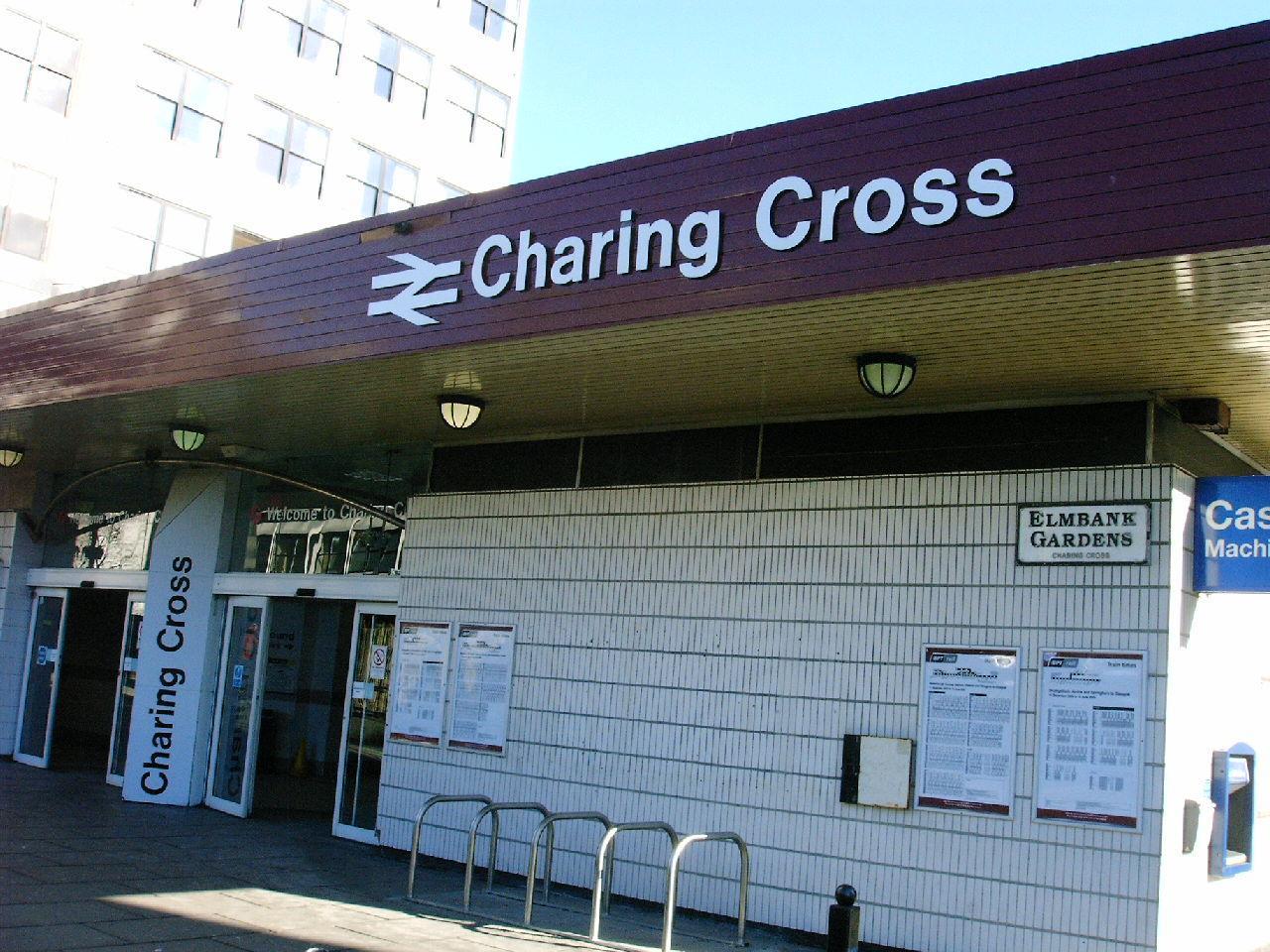 Charing Cross Glasgow Cake Shop