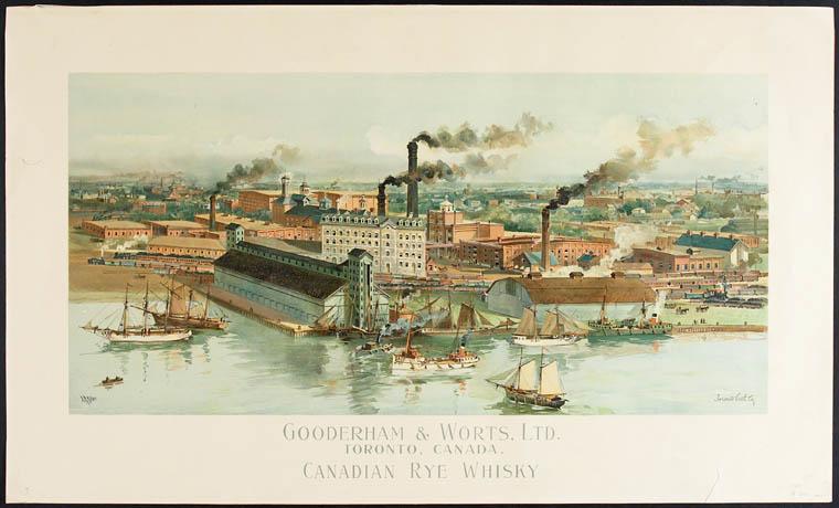 Rye Whiskey Distillery Tour