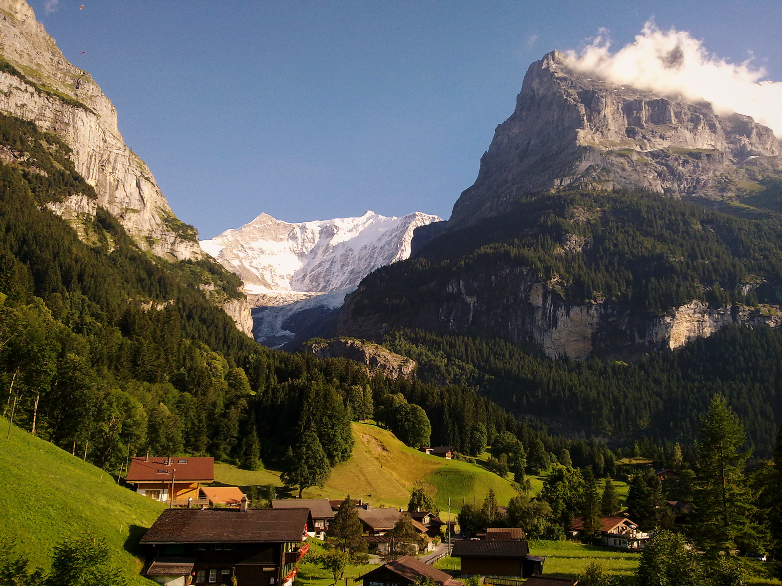 Grindelwald and Eiger