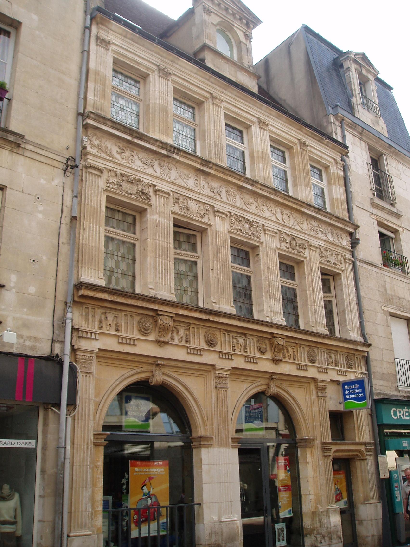 Datei H U00f4tel P U00e9lisson  9 Rue Du March U00e9  Poitiers Jpg