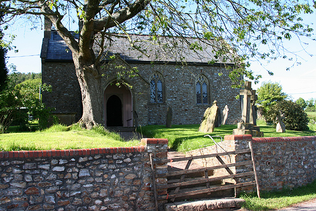 Hemyock, Culm Davy chapel - geograph.org.uk - 178766
