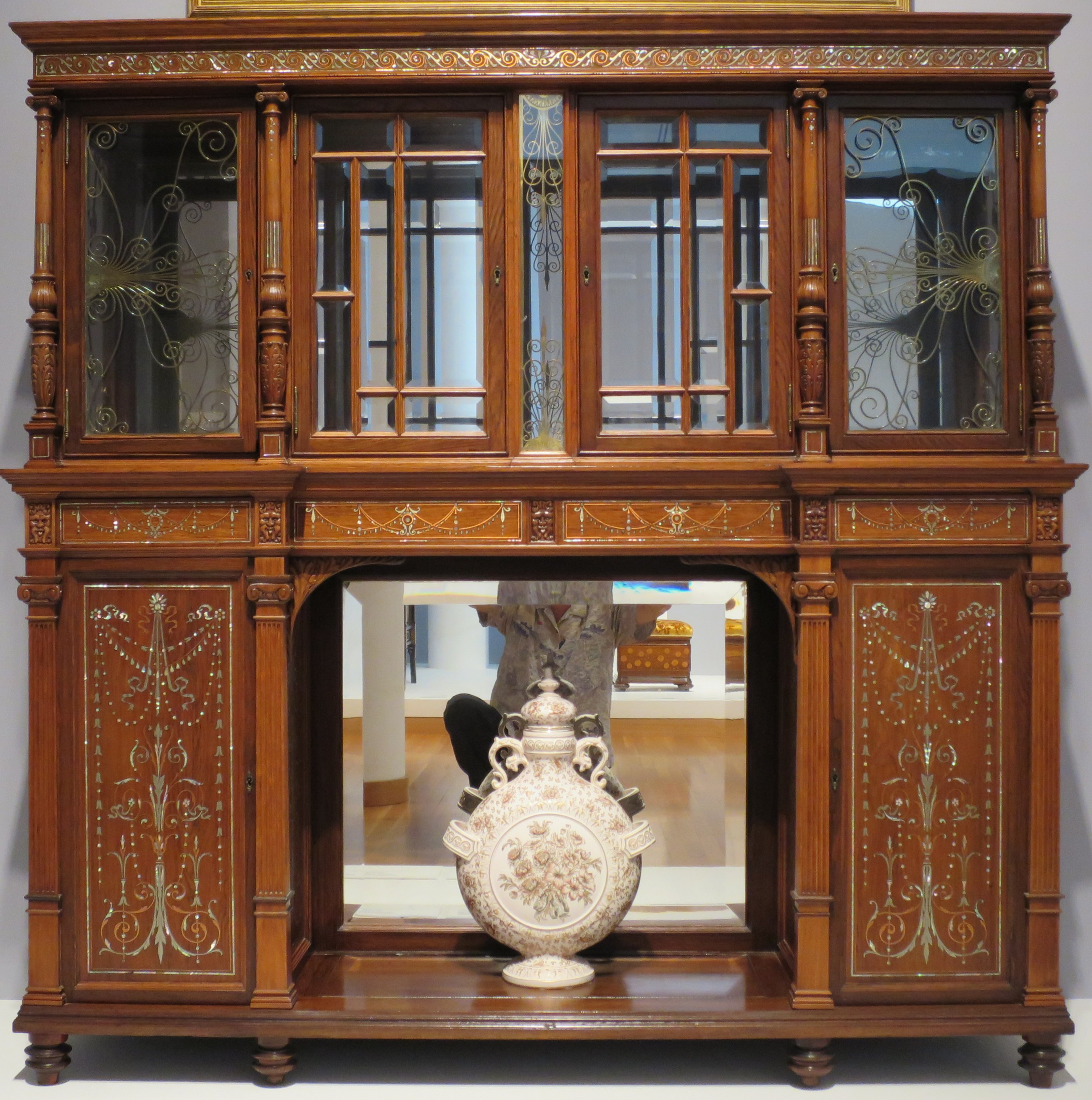 File:Herter Brothers Cabinet, c. 1880, High Museum of Art.JPG ...