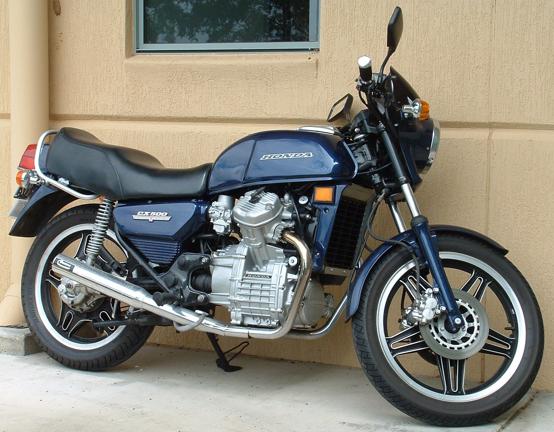 Honda Cx Series Wikipedia Motorcycles Shadow 500 Wiring Diagram