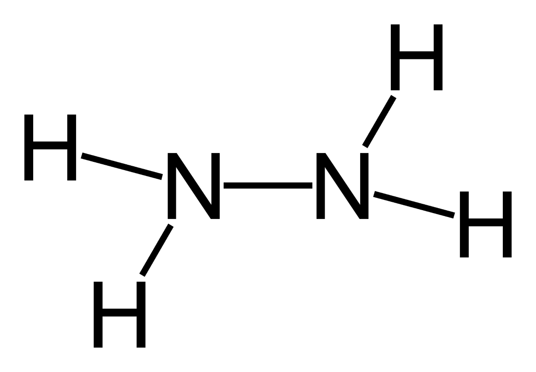 n2h4 lewis structure
