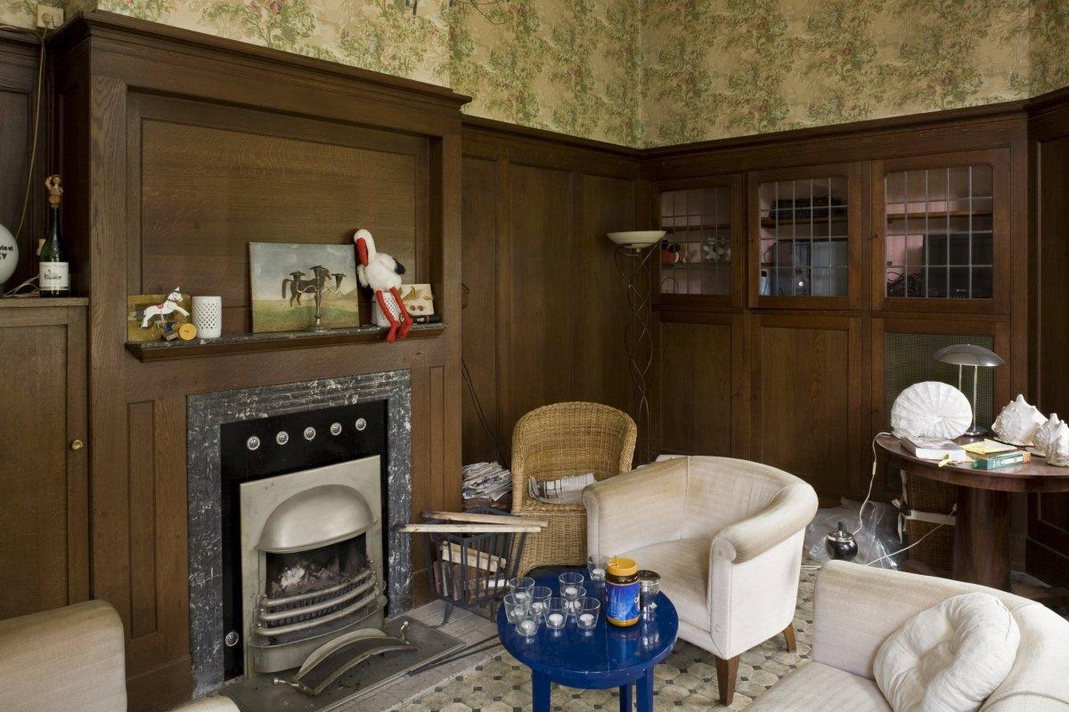 File interieur van de serre met jaren 39 30 houten for Jaren 30 stijl interieur