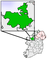 Ireland map County Sligo Magnified.png