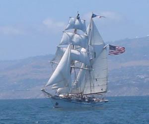 El bergatin, un barco utilizado para el trafico mercante.