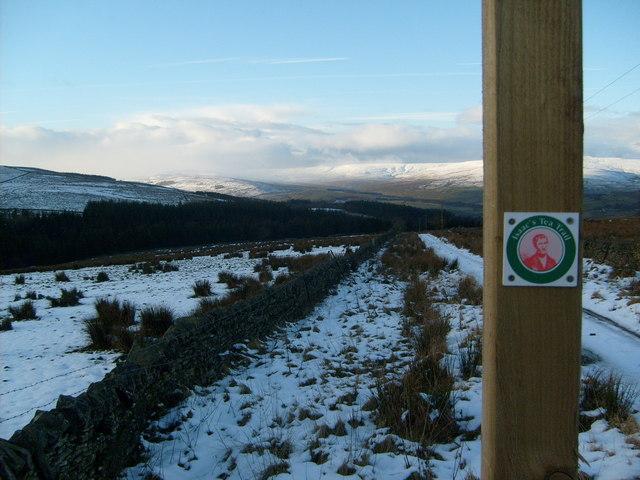 Isaac's Tea Trail near Clargillhead - geograph.org.uk - 1130114