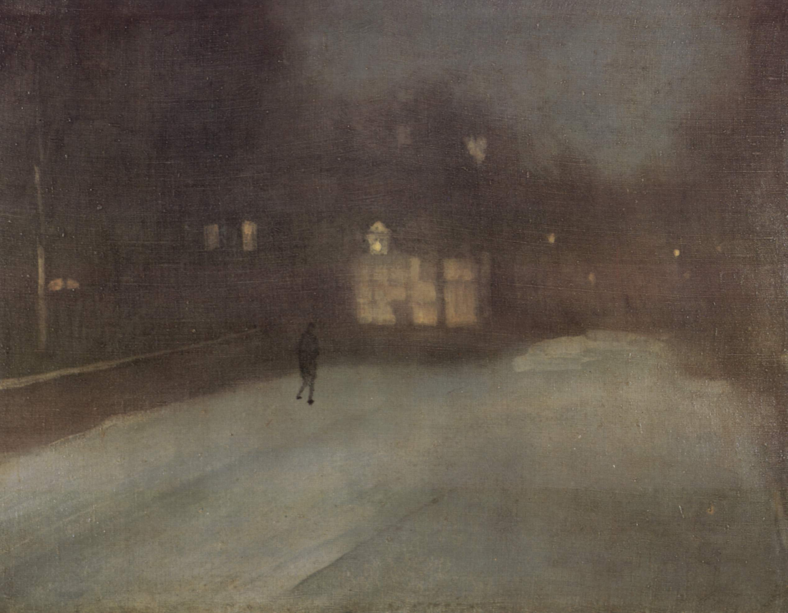 whistler paintings Finding a parallel between painting and music, whistler entitled many of his  paintings arrangements, harmonies, and nocturnes, emphasizing the  primacy of.