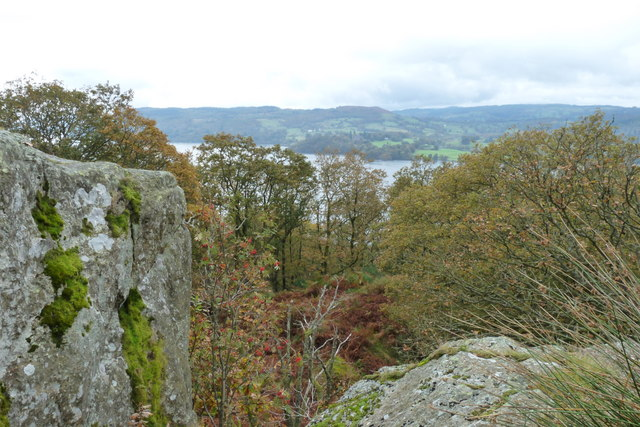 Jenkin Crag, Near Waterhead, Ambleside - geograph.org.uk - 1545300