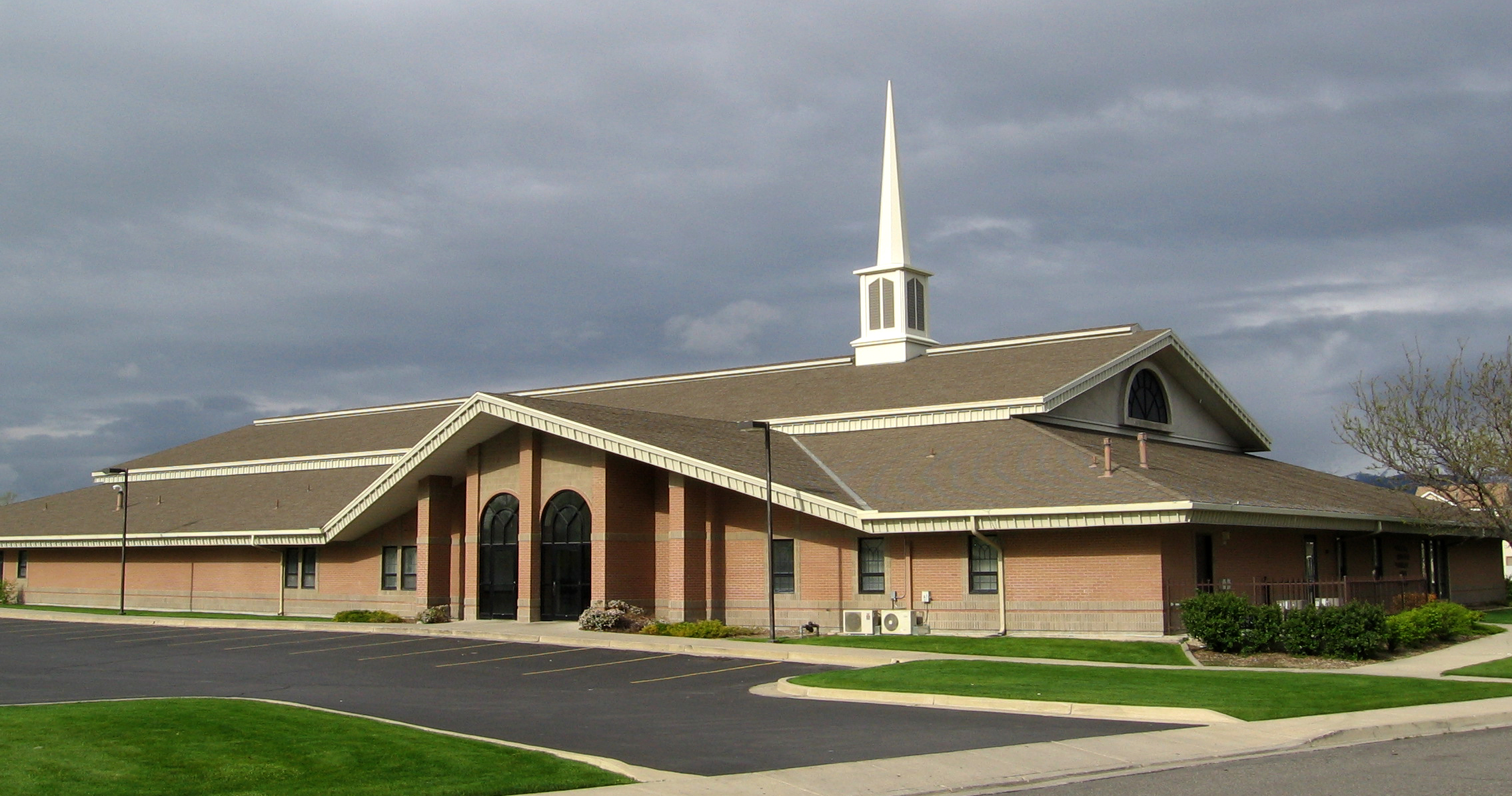 File:LDS stake center in West Valley City, Utah (cropped ...
